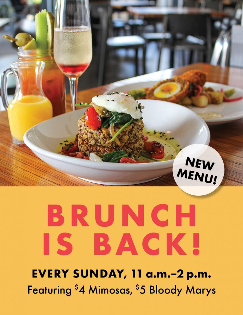 Have brunch at Gravity Sundays and enjoy $4 mimosas and $5 bloody marys
